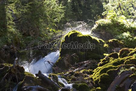 alps austrians europe nearness stream horizontal