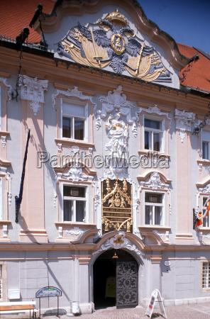 sala citta carinzia austria perpendicolare verticale