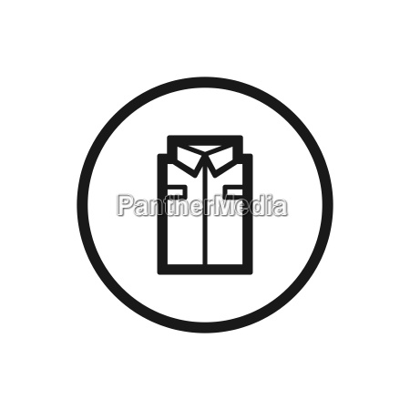 working clothes line icon on a