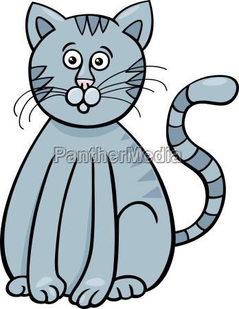 personaggio simpatico animale fumetto di gatto