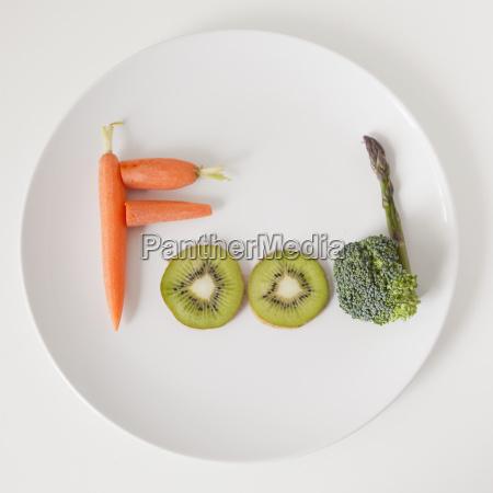 cibo freschezza frutta piatto verdura carota