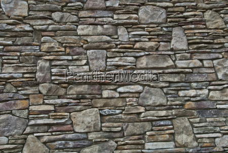 close up of stone wall