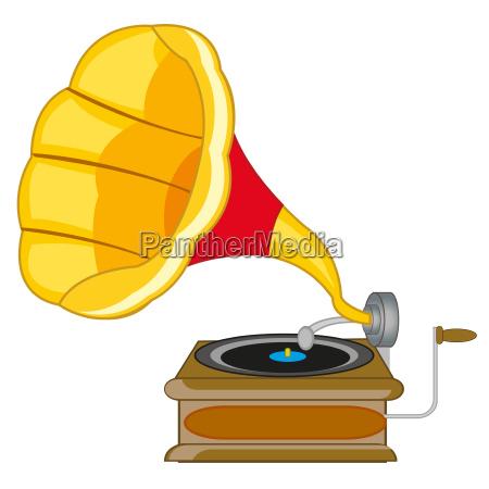 oggetto giocatore gramofono