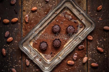 cibo cacao dessert cioccolato mousse