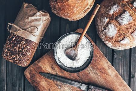 cibo pane grano segale panificio pasticceria