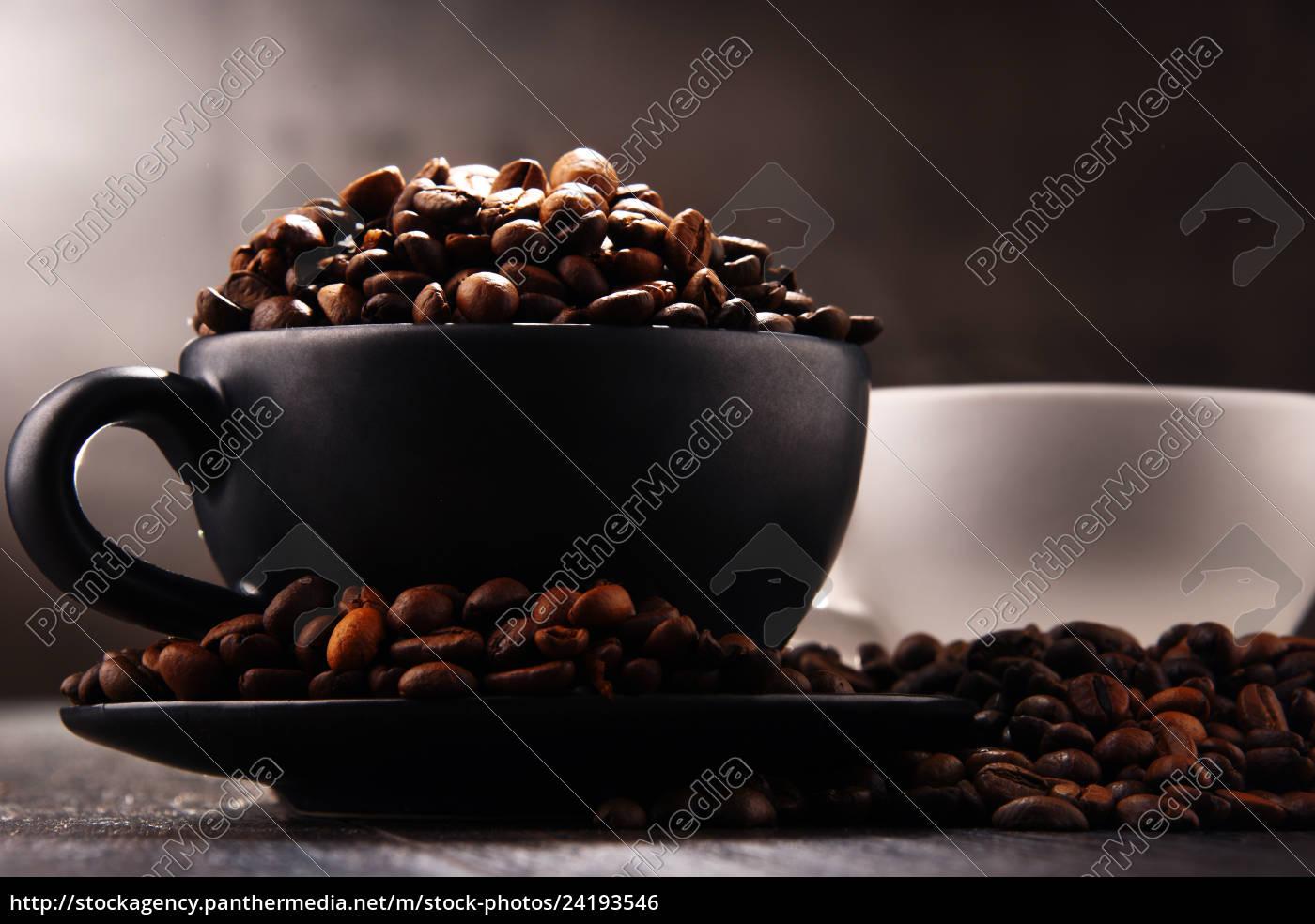 composizione, con, due, tazze, di, caffè - 24193546