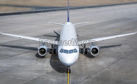 aereo moderno di un campo di