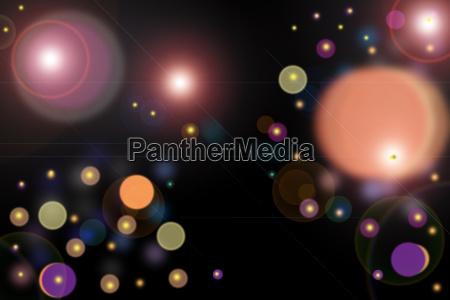 luce colore luci colorato cerchio astratto