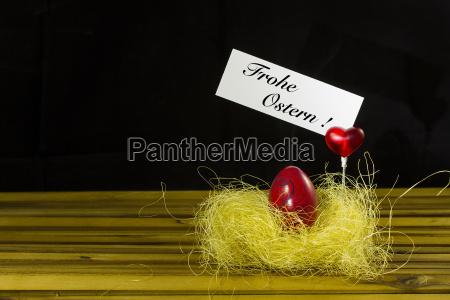 colorato pasqua nido uova cuore infobox