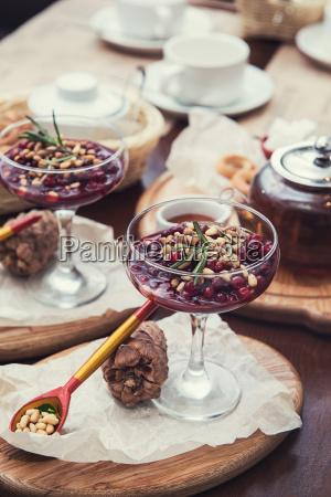 dessert, da, beriies, con, semi, di - 24246316