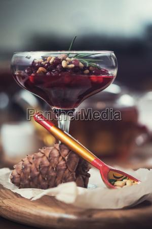 dessert, da, beriies, con, semi, di - 24246328