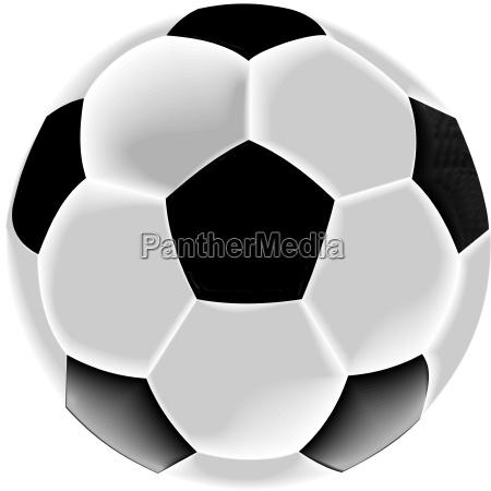palla grafico nero illustrazione coppa del