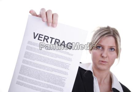 donna donne contratto ricettivo affare affari