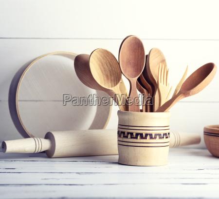 cibo legno cucina forchetta rustico di