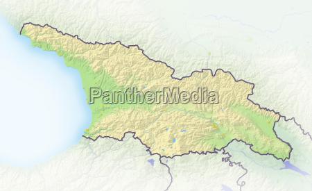 caucasico europeo europa confine georgia europa