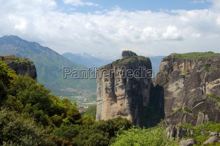 montagne grecia caucasico europeo europa greco
