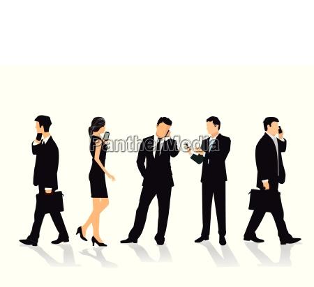 donna telefono persone popolare uomo umano