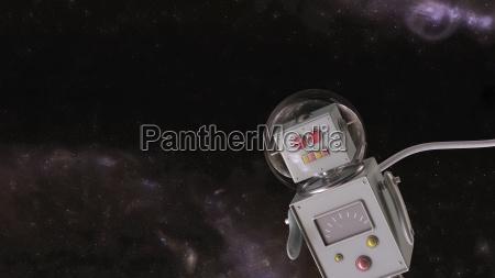 viaggio viaggiare universo moderno ricerca illustrazione