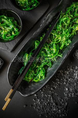 cibo frutti di mare giapponese alga