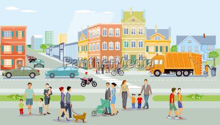 guidare persone popolare uomo umano casa