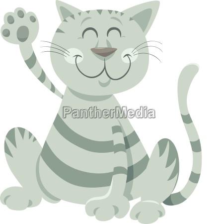 buffo gatto soriano personaggio dei cartoni