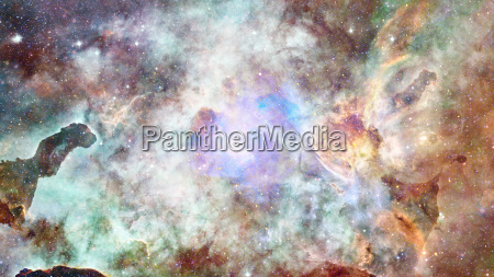 galassia e nebulosa sfondo astratto elementi