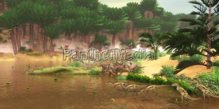 rettile lucertola dinosauro carnivoro