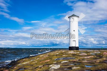 torre acqua mar baltico acqua salata