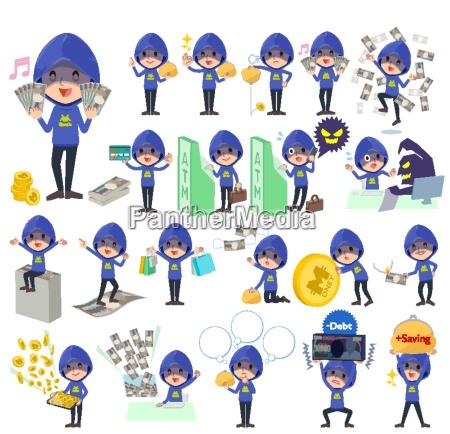 hacker di blue parker menmoney
