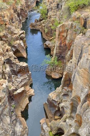 national park africa rock rivers sandstone