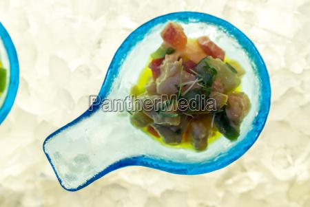 cibo gamberetto frutti di mare aperitivo