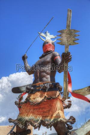 apache mountain spirit dancer statua da