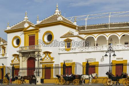 plaza del toros de la real