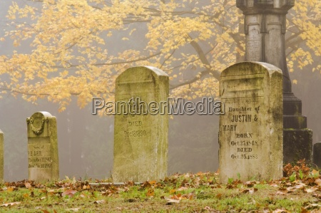 cimitero di pioneerportlandoregonusa