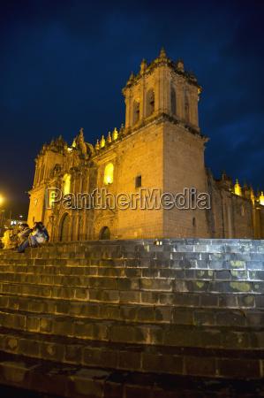 exterior of the templo de la