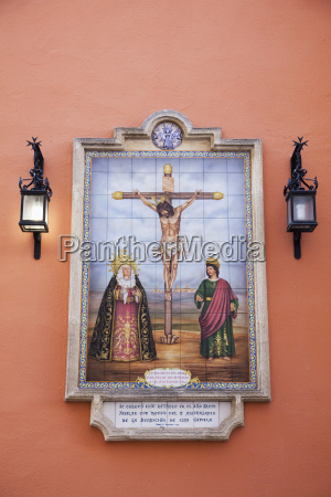 picture of a religious scene with