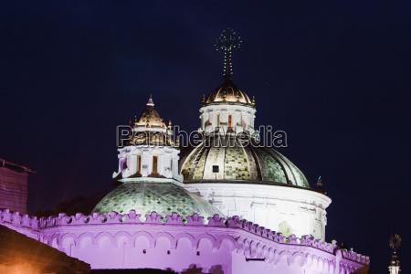 cupolas of la compania of jesus