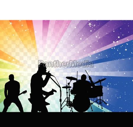 rock group silhouett