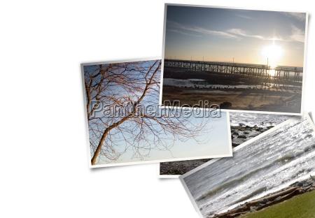 informazioni sul layout fotografico sulla spiaggia