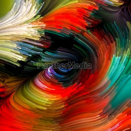 movimento in movimento visualizzazione composizione colore