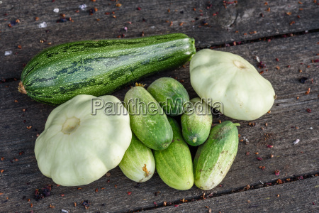 vendemmia cetriolo verdura squash schiacciare vegetale