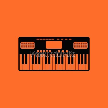music synthesizer icon