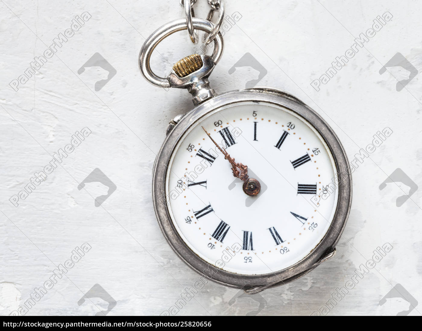 two, minutes, to, twelve, on, antique - 25820656