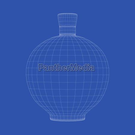 alcool bottiglia filo acquavite cognac brandy