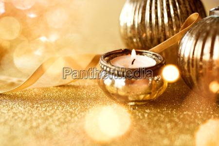 decorazione natalizia doro