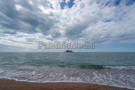 blu fortezza collina riva del mare