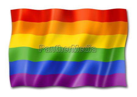 bandiera arcobaleno orgoglio gay omosessuale lesbica