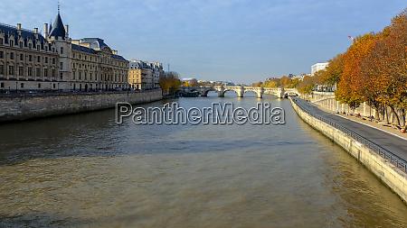 citta parigi francia senna autunno