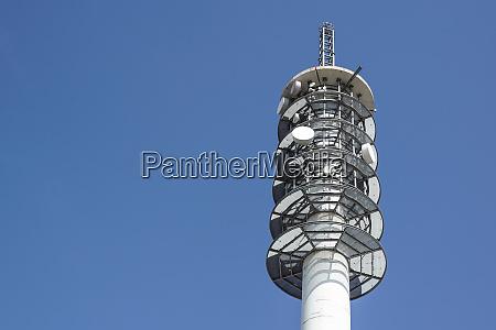 blu torre viaggio viaggiare industria industriale