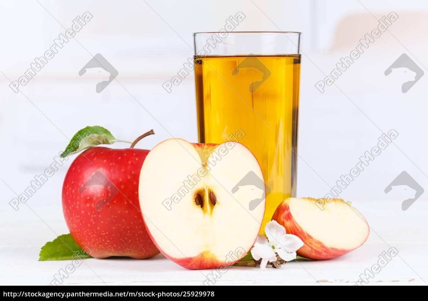 succo, di, mela, mele, bevendo, il - 25929978